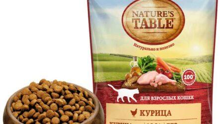Nature's Table корм для кошек. Разбор состава, предназначения и ассортимента