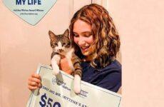 История о коте, который помог своей хозяйке выиграть приз в 50 тысяч долларов