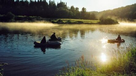 Рыбалка в Республике Коми и её особенности